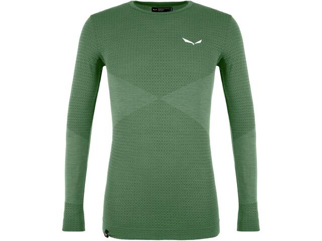 SALEWA Zebru Responsive T-Shirt À Manches Longues Homme, duck green